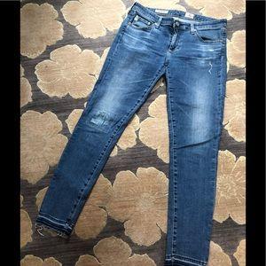 "AG Jeans, ""The Legging Ankle, Super Skinny Ankle"""